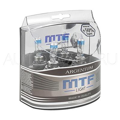 Лампа галогенная HB4 9006 - MTF Argentum + 50% 12V 55W 3500K