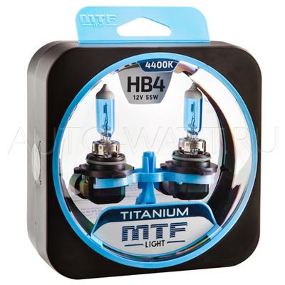 Лампа галогенная HB4 9006 - MTF Titanium 12V 55W 4400K