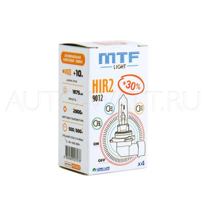 Лампа галогенная HIR2 9012 - MTF 12V 55W 3000K