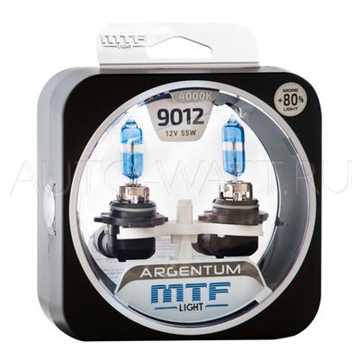 Лампа галогенная HIR2 9012 - MTF Argentum + 80% 12V 55W 4000K
