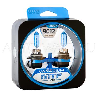 Лампа галогенная HIR2 9012 - MTF Vanadium 12V 55W 5000K