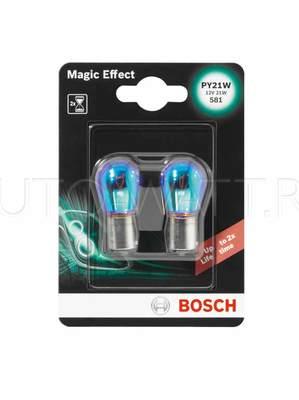 Лампа галогенная P21W 1156 - Bosch MagicEffect 12V 21W