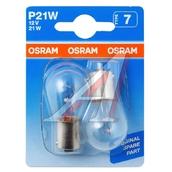 Лампа галогенная P21W 1156- OSRAM Original 12V 21W