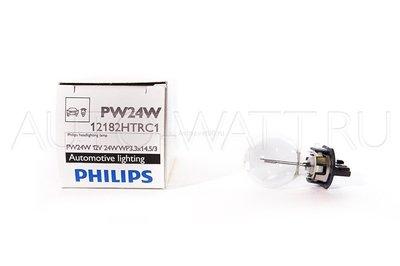 Лампа галогенная PW24W - PHILIPS HTR HiPerVision 12V 24W 3000K Комплект