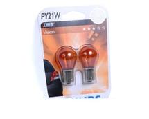 Лампа галогенная PY21W 1156  - PHILIPS Vision 12V 21W 3000K Комплект