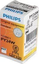 Лампа галогенная PY24W - PHILIPS 12V 24W Жёлтые