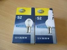 Лампа галогенная S2 - Hella 35/35W 12V