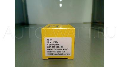 Лампа галогенная S3 - Hella 15W 12V