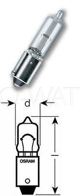 Лампа галогенная T4W BA9S - Bosch 5W