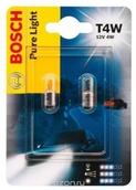 Лампа галогенная T4W BA9S - Bosch Pure Light 4W