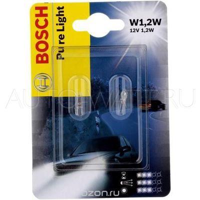 Лампа галогенная T5 - Bosch Pure Light 12V 1,2W