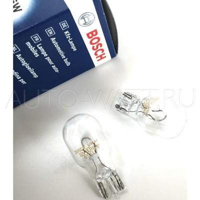 Лампа галогенная T15 W16W - Bosch Pure Light 12V 16W