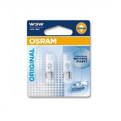 Лампа галогенная W3W - OSRAM Original 12V 3W