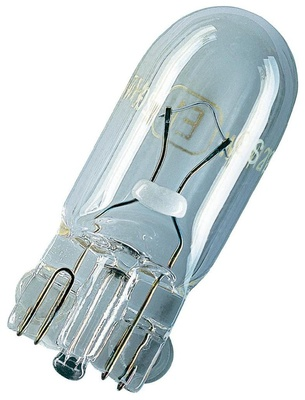 Лампа галогенная W5WT10 - Bosch 12V 3W