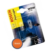 Лампа галогенная W5W T10 - Bosch Pure Light 12V 2W