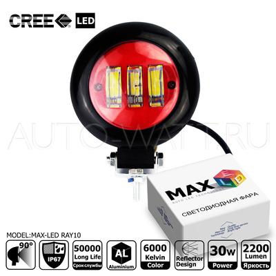 Светодиодная фара Max-Led Cree RAY10 40Вт
