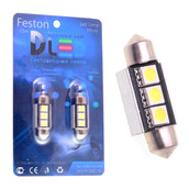 Светодиодная лампа C5W 36 мм - 3 SMD5050 0.9Вт Белая