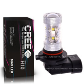 Светодиодная лампа H10 - Max CREE 10Led + Линза 50Вт