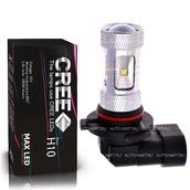 Светодиодная лампа H10 - Max CREE XB 6Led + Линза 30Вт