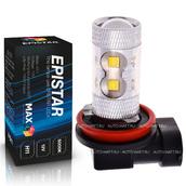 Светодиодная лампа H11 - 10 Epistar Линза 50Вт