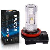 Светодиодная лампа H11 - 6 Epistar Линза 30Вт