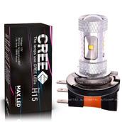 Светодиодная лампа H15 - 6 CREE Линза 30Вт