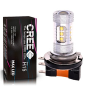 Светодиодная лампа H15 - 16 CREE Линза 80Вт