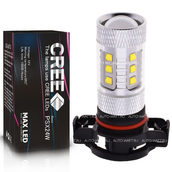Светодиодная лампа H16 PSX24W - 16 CREE Линза 80Вт