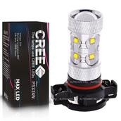 Светодиодная лампа H16 PSX24W - 10 CREE Линза 50Вт