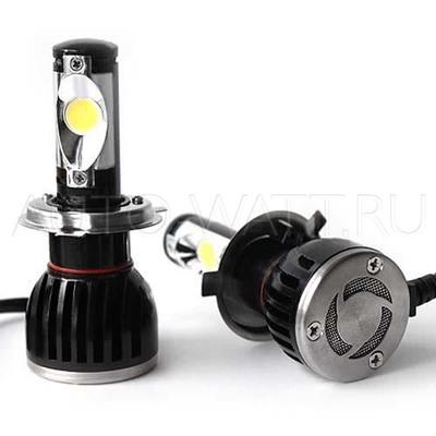 Светодиодная лампа H4 - 2 CREE 22Вт DLED