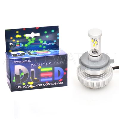 Светодиодная лампа H4 - 3 CREE XM-L2 3S 28Вт DLED