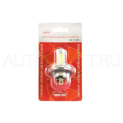 Светодиодная лампа H4 - SHO-ME H4 - 11W Белая