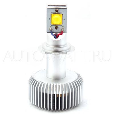 Светодиодная лампа H7 - 2 CREE 35Вт