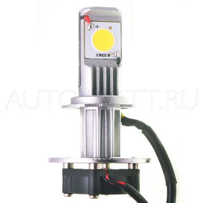 Светодиодная лампа H7 - 2 CREE 22Вт