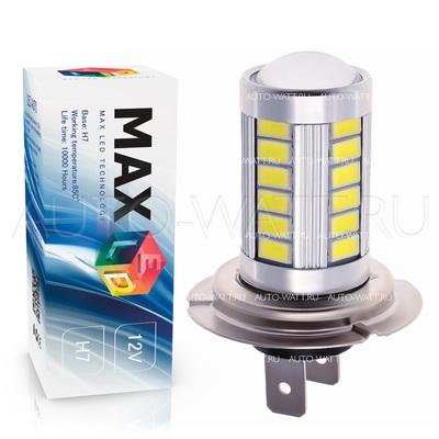 Светодиодная лампа H7 - Max-Road 33Led 13Вт