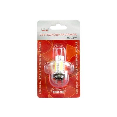 Светодиодная лампа H7 - SHO-ME - 11W Белая