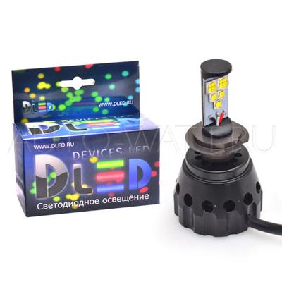 Светодиодная лампа H7 - 5 CREE HL 50Вт DLED