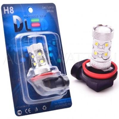 Светодиодная лампа H8 - 10 EPISTAR 50Вт DLED