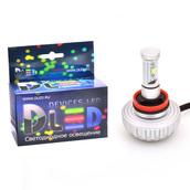 Светодиодная лампа H9 - 2 CREE XM-L2 3S 20Вт DLED