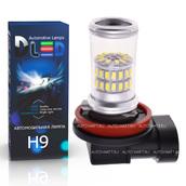 Светодиодная лампа H9 - 48 SMD3014 9Вт