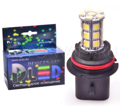 Светодиодная лампа HB1 9004 - 27 SMD 5050 6.48Вт DLED