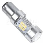 Светодиодная лампа P21/5W 1157 - 21 SMD2835 Samsung 7Вт Белая