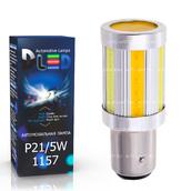 Светодиодная лампа P21/5W 1157 - 7 COB 20Вт Белый-Жёлтый