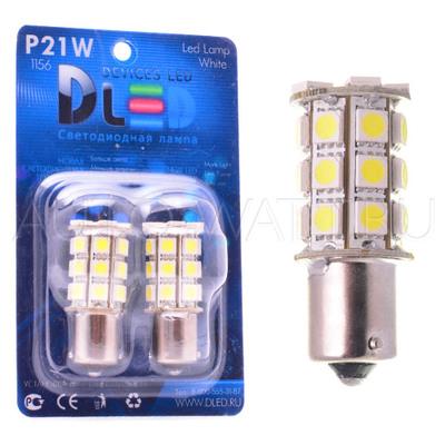 Светодиодная лампа P21W 1156 - 27 SMD5050 6.48Вт Белая