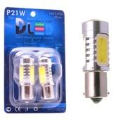 Светодиодная лампа P21W 1156 - 4 High-Power 6Вт Красная