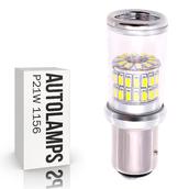 Светодиодная лампа P21W 1156 - 48 SMD3014 9Вт Белая