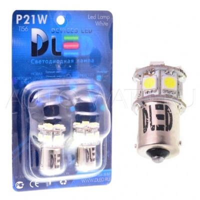 Светодиодная лампа P21W 1156 - 8 SMD5050 1.92Вт Белая