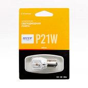 Светодиодная лампа P21W 1156 – MTF 2W 5000K Желтая