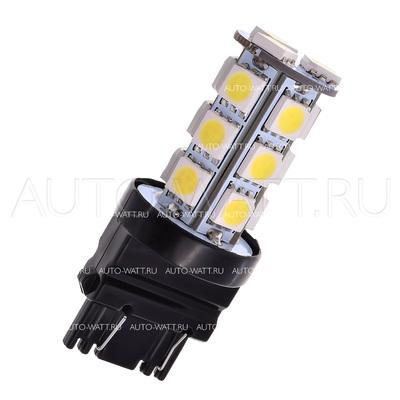 Светодиодная лампа P27/7W 3157 - 18 SMD5050 4.32Вт Белая