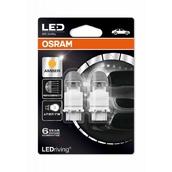 Светодиодная лампа P27/7W 3157 - LED Premium Amber 2W 1500K